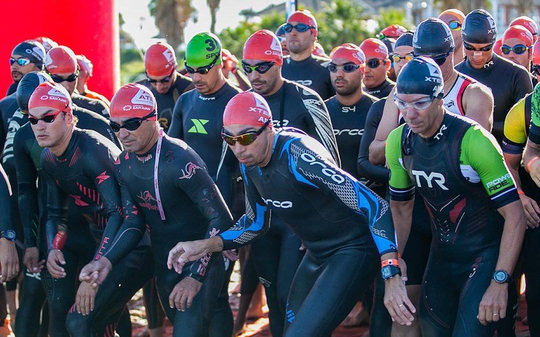 'Instapdrempel triathlon lager dankzij Long Course Weekend'