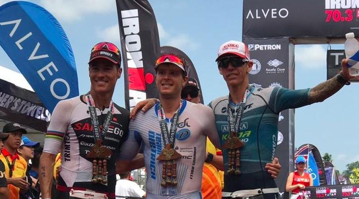 Markus Rolli en Radka Kahlefeldt sterksten in Ironman 70.3 Davao Phillipines