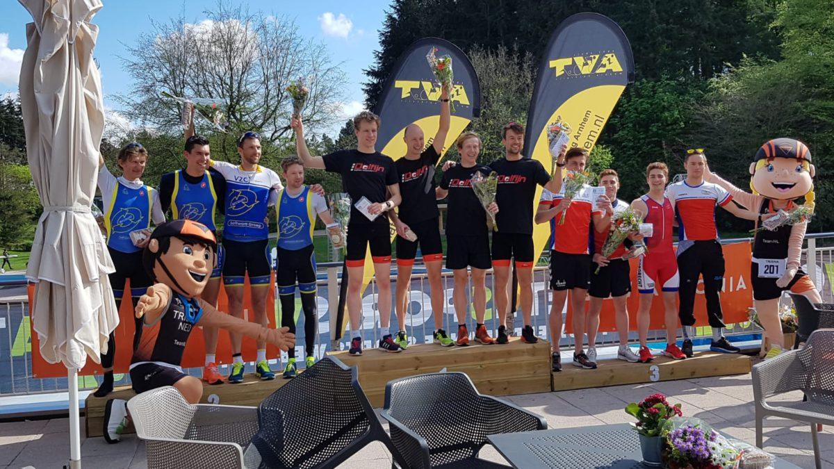 Dolfijn domineert Team Triathlon Arnhem, Jesse Cuijpers en Silke de Wolde het Jeugd en Junioren Circuit
