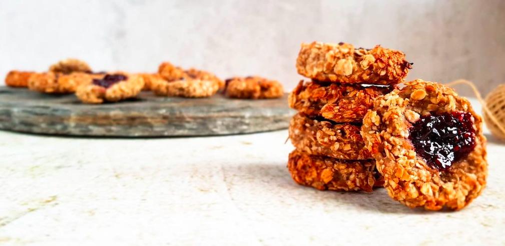 Zonder vet maar vol koolhydraten: zelfgemaakte koekjes