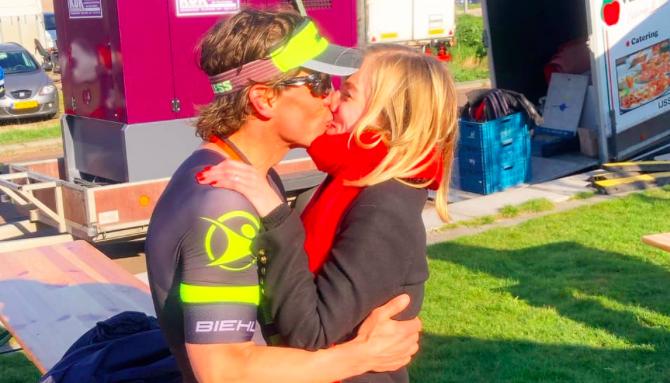 Marcel Gierman en Rosanne de Boer winnen Triathlon IJsselmuiden