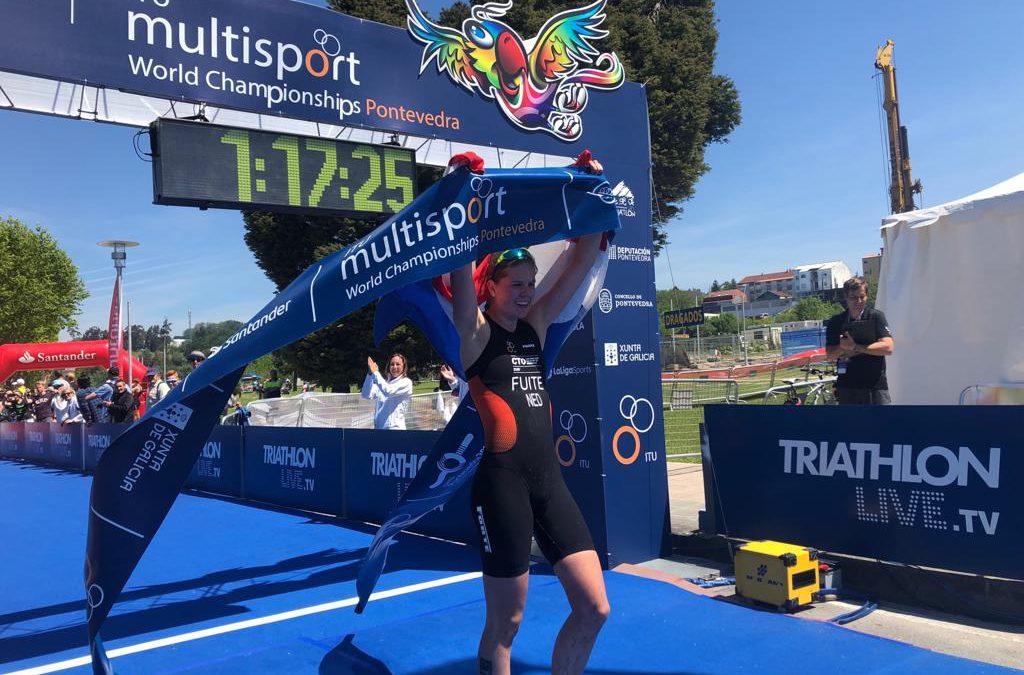 Willemijn Fuite kroont zich tot Wereldkampioen Cross Triathlon Junioren