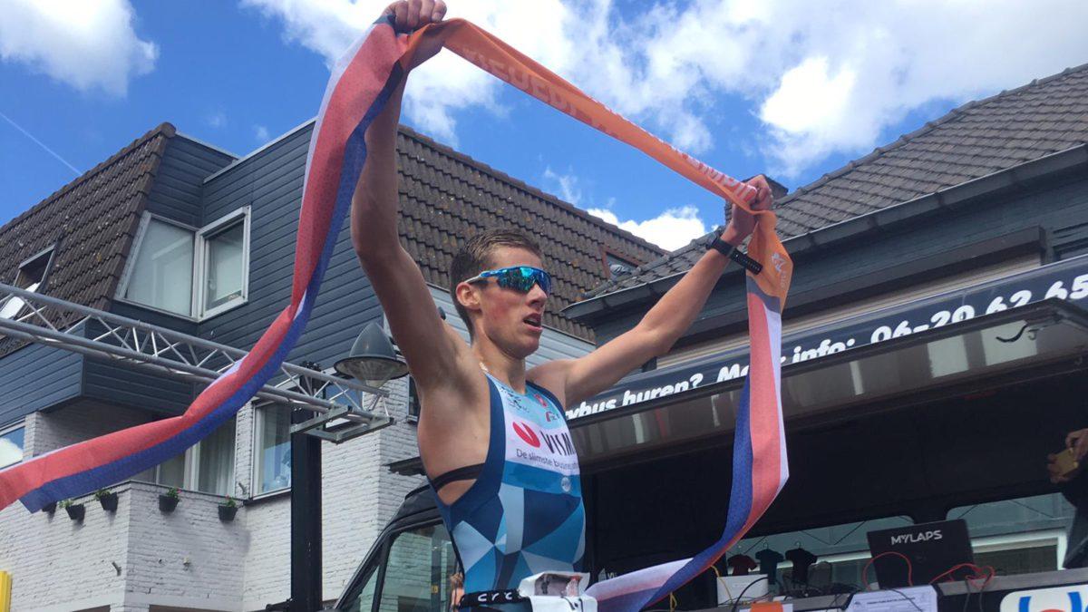 Thomas Cremers na prolongeren Nederlandse titel Duathlon kort: 'Dáár kwam ik voor' [VIDEO]