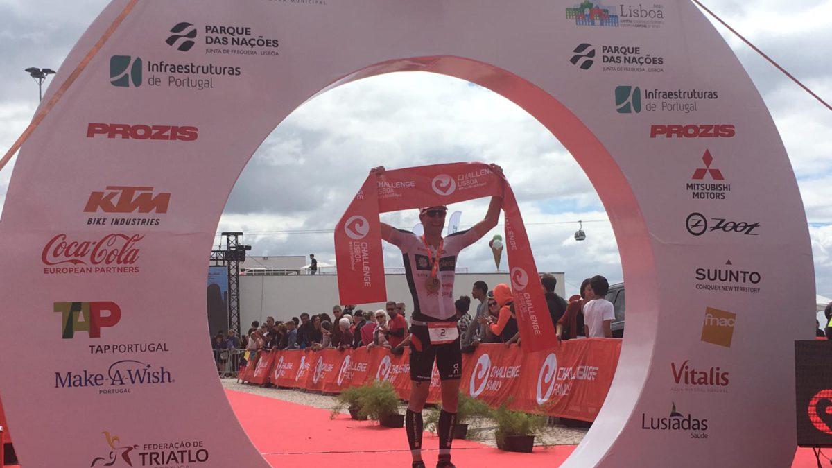 Ruedi Wild en Elisabetta Curridori pakken winst in Challenge Lissabon