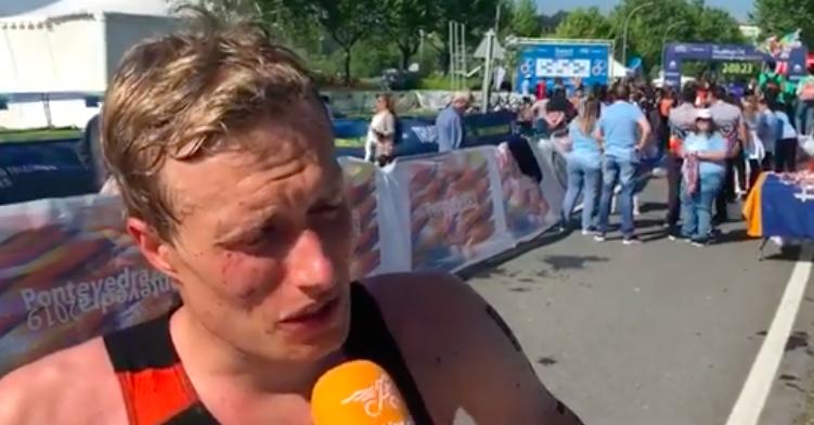 Joep Staps teleurgesteld over WK Cross Triathlon: 'Dit valt een beetje tegen'