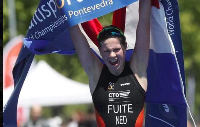Willemijn Fuite blikt terug op wereldtitel Cross Triathlon: 'Het is een beetje geland'