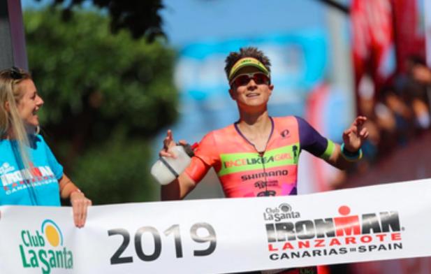 Fenomenale inhaalrace levert Lenny Ramsey derde plaats Ironman Lanzarote op