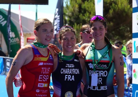 Marije Dankelman na 18e plaats ETU Cup Mediterranean Championships: 'Ik baal ervan dat ik niet in de kopgroep zat'