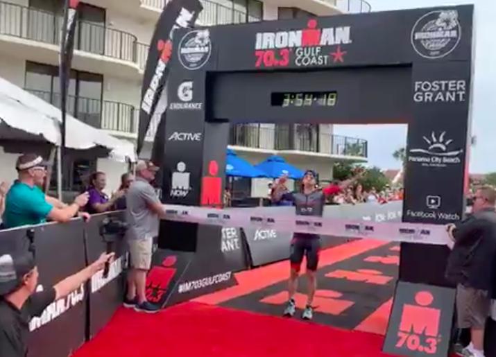 Tj Tollakson en Carrie Lester grijpen titel bij Ironman 70.3 Gulf Coast