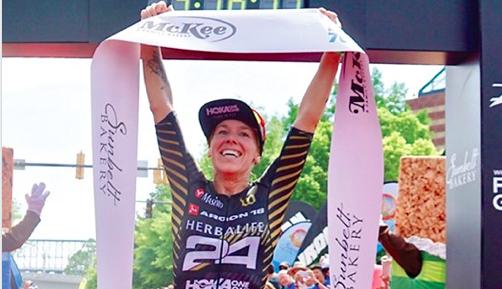 Sam Long en Heather Jackson kampioenen bij Ironman 70.3 Chattanooga