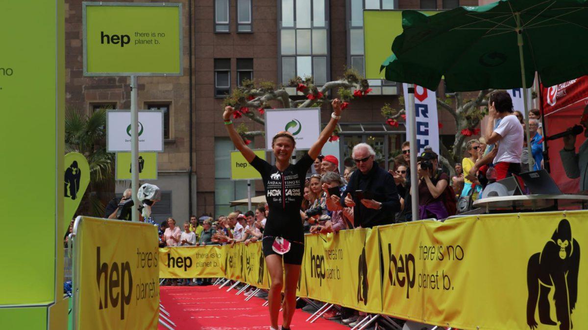 Els Visser pakt tweede plaats bij Challenge Heilbronn