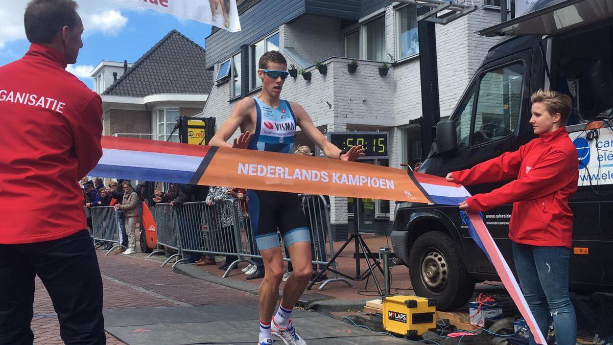 Thomas Cremers nieuwe Nederlands kampioen duathlon