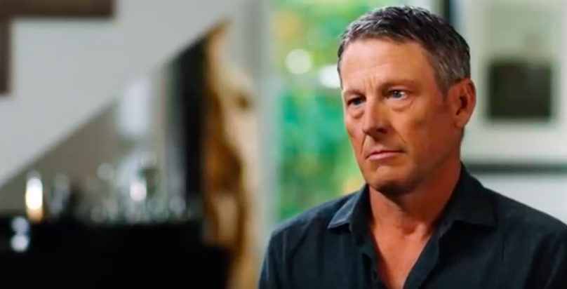 Voormalig profrenner en triatleet Lance Armstrong: 'Ik wilde nooit opgeven. Nooit.'