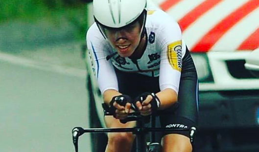 Shirin van Anrooij grijpt Nederlandse titel tijdrijden junioren