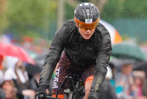 Pleuni Hooijman na tweede plaats Ironman Cork: 'Het was écht een slagveld'