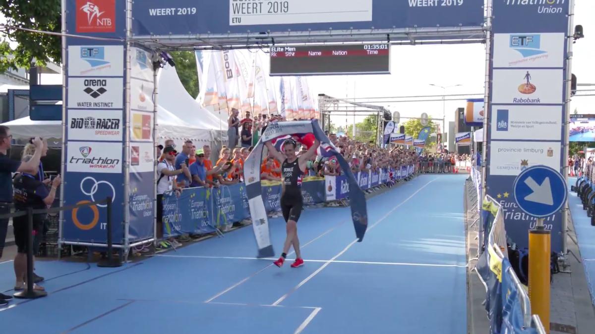 Alistair Brownlee grote winnaar EK Weert, Hillebregt als 28e beste Nederlander