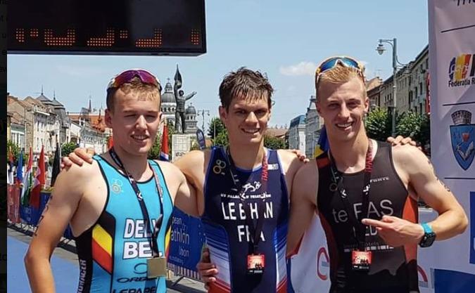 Niels te Pas derde EK duathlon U23, Lesley Smit pakt knappe vierde plek overall