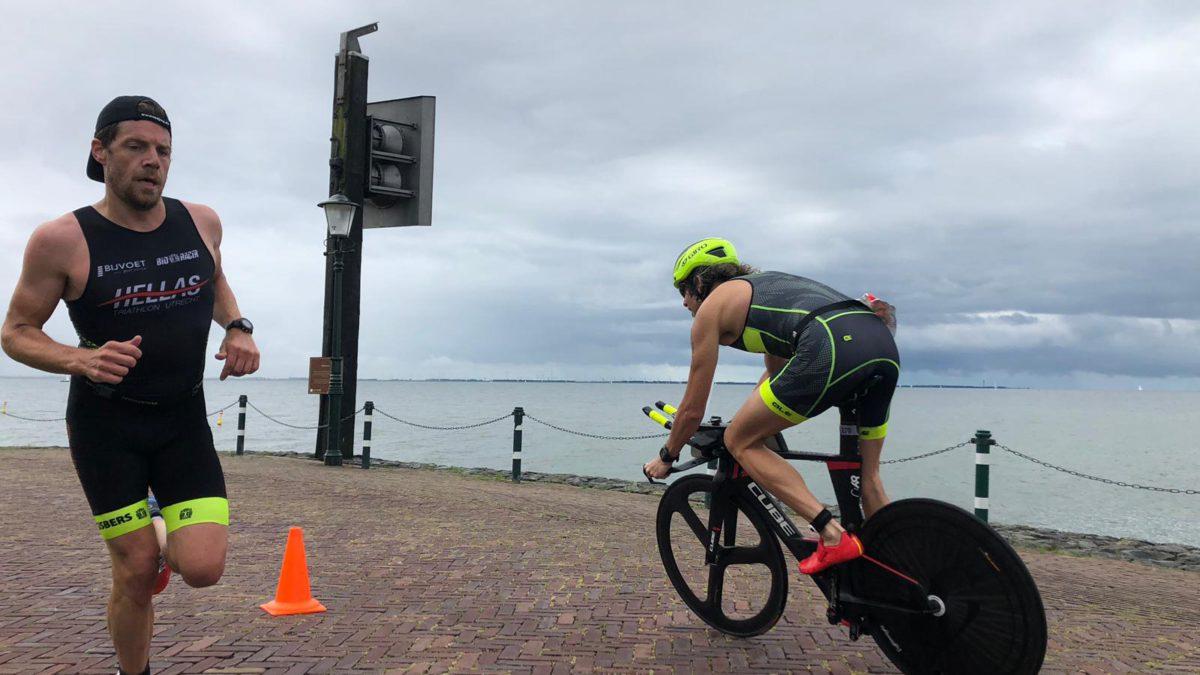 In beeld gevangen: Suydersee Triathlon Urk