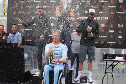 Geert Schipper en Tessa Kortekaas pakken eerste editie Ironman Hoorn