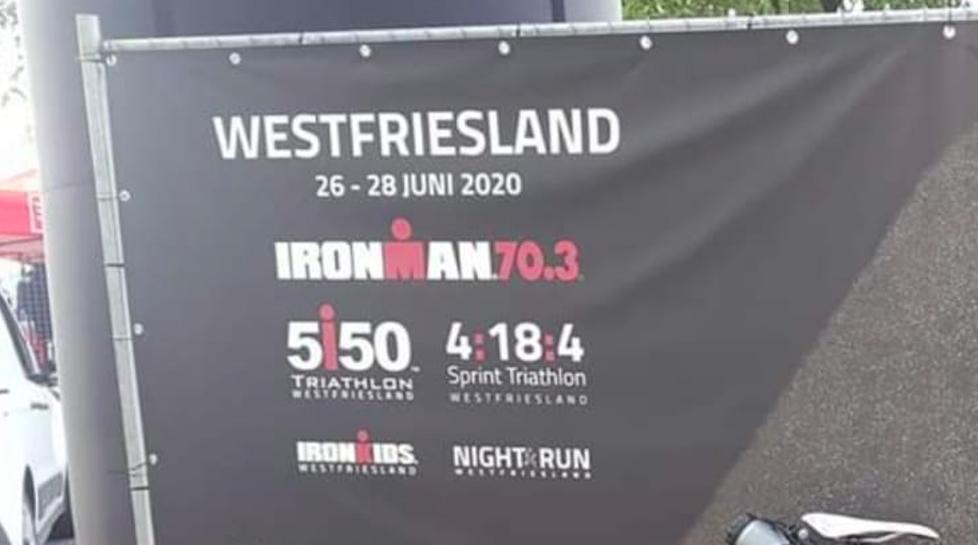 Data Ironman Maastricht en Westfriesland (2020) bekend: Hoorn krijgt definitief 70.3
