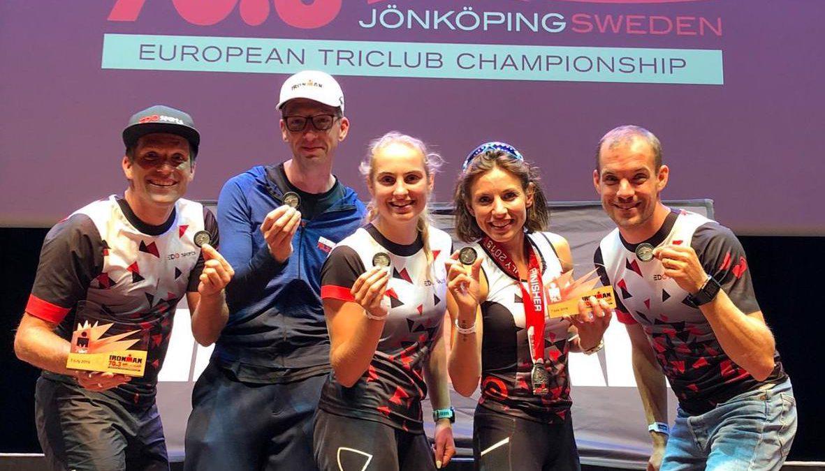 Een succesvolle dag voor EDOsports tijdens EK 70.3 Triclubs Jönköping
