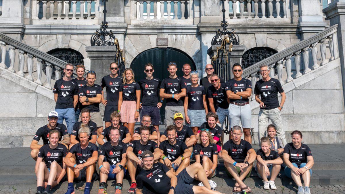 Atleten EDOsports kijken uit naar EK Ironman 70.3 voor Triclubs