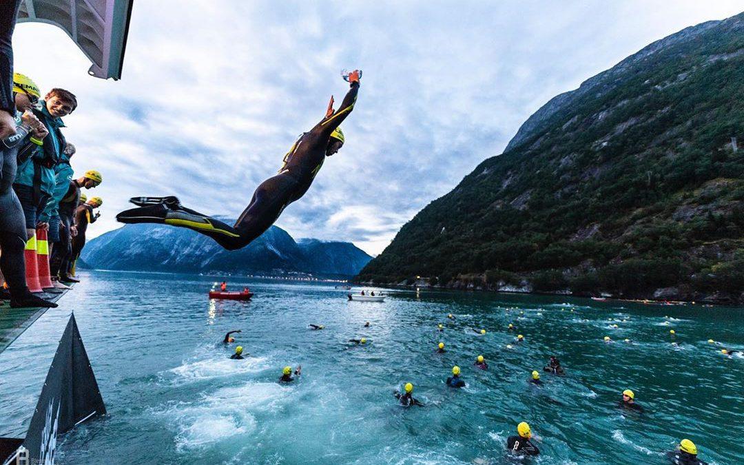 In beeld gevangen: Norseman Xtreme Triathlon