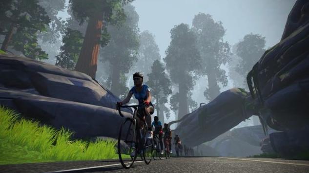 Zwift introduceert nieuwe routes: 'Titans Grove'
