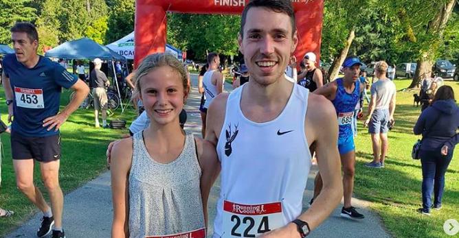 12-jarige Sidney Swierenga loopt sub37 op 10 kilometer
