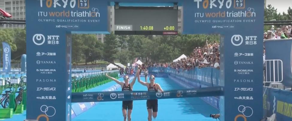 Jessica Learmonth en Georgia Taylor-Brown gediskwalificeerd wegens gezamenlijke finish