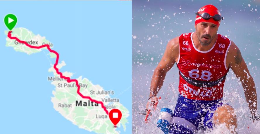 5 hele triathlons in 5 dagen; Fabio Spiteri over de Quintuple Ultra