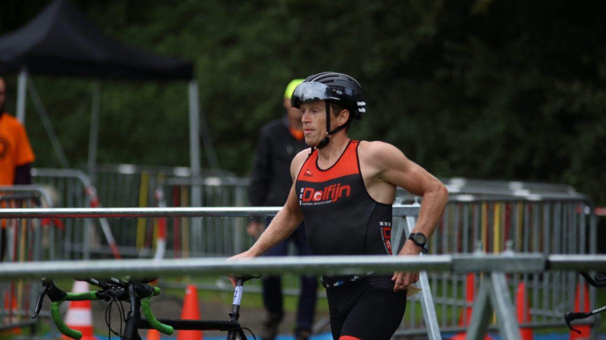 Wouter Dijkshoorn en Heleen Moes winnen duathlon bij 1e Triathlon Giesbeek