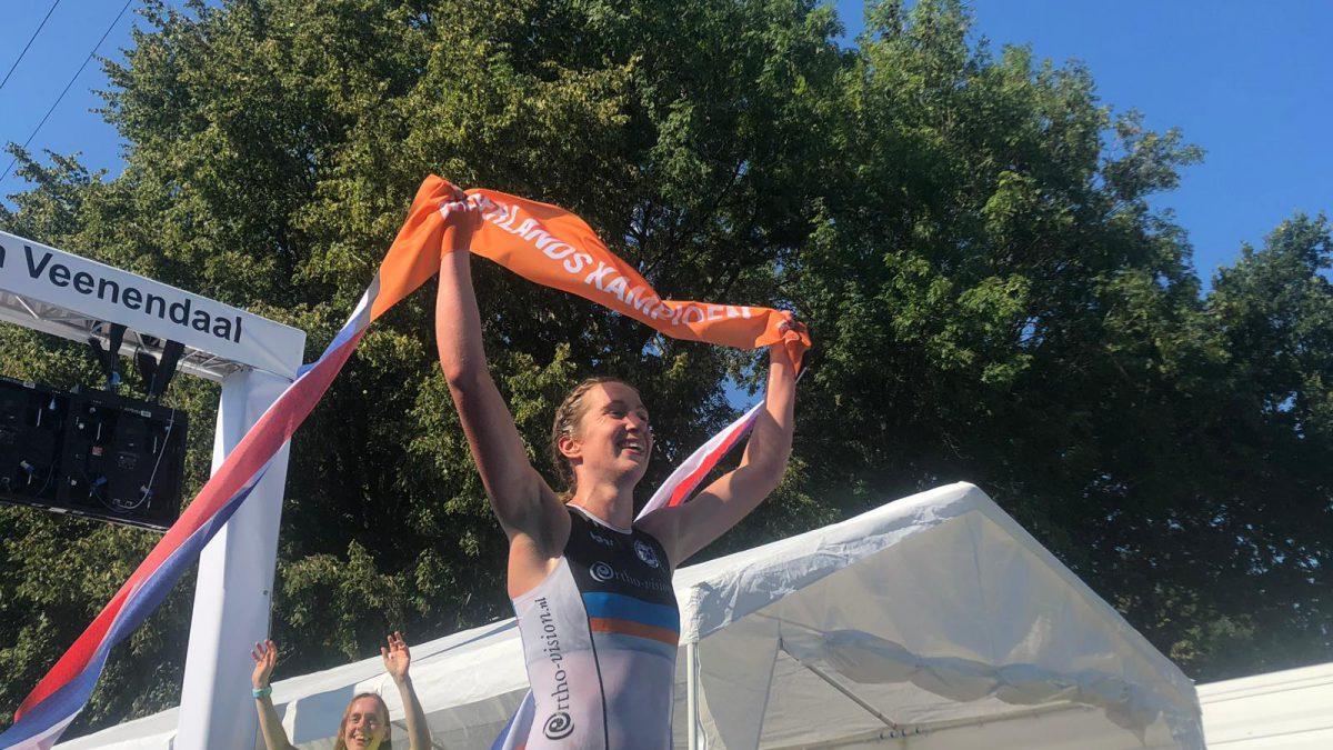 Oppermachtige Sarissa de Vries pakt Nederlandse titel OD