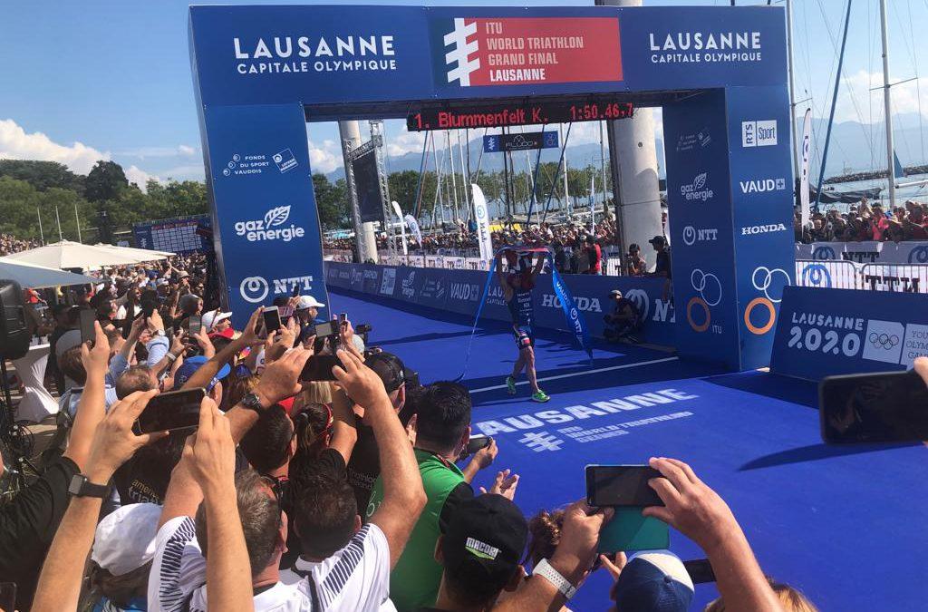 Kristian Blummenfelt wint eerste WTS titel Lausanne, Vincent Luis winnaar WTS klassement