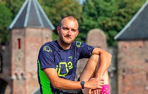 Omar Brons en Jony Heerink winnen Keistad Triathlon Amersfoort