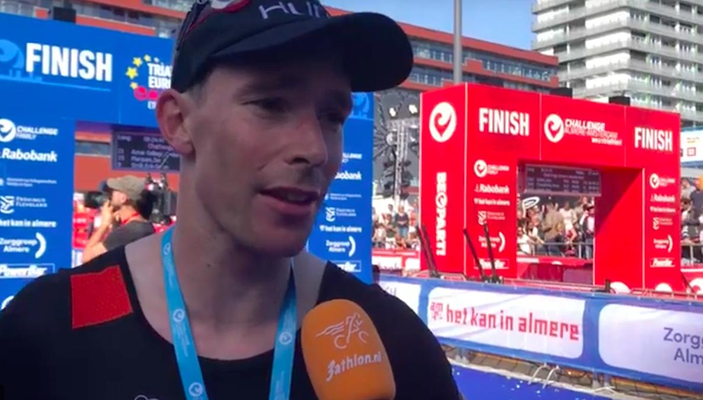 Erik-Simon Strijk Nederlands Kampioen op de hele tijdens Challenge-Almere Amsterdam