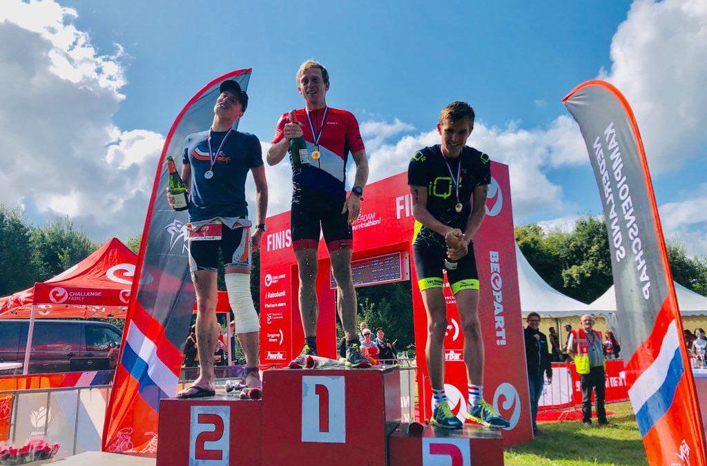 Verrassende Nederlandse titels Cross Triathlon voor Wouter Dijkshoorn en Diede Diederiks