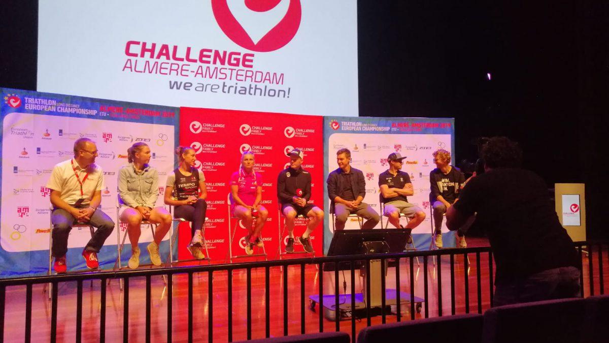 Pro atleten blikken vooruit op Challenge Almere-Amsterdam tijdens persconferentie