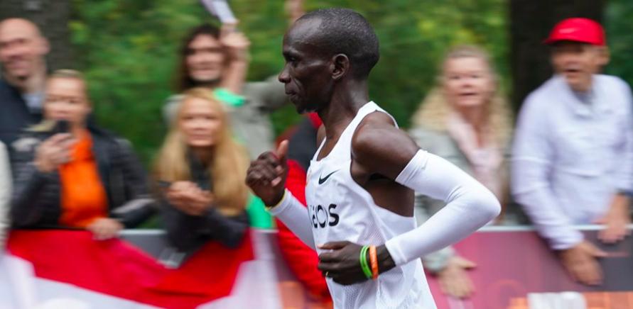 Inspiratie: Eliud Kipchoge loopt als eerste mens marathon onder 2 uur
