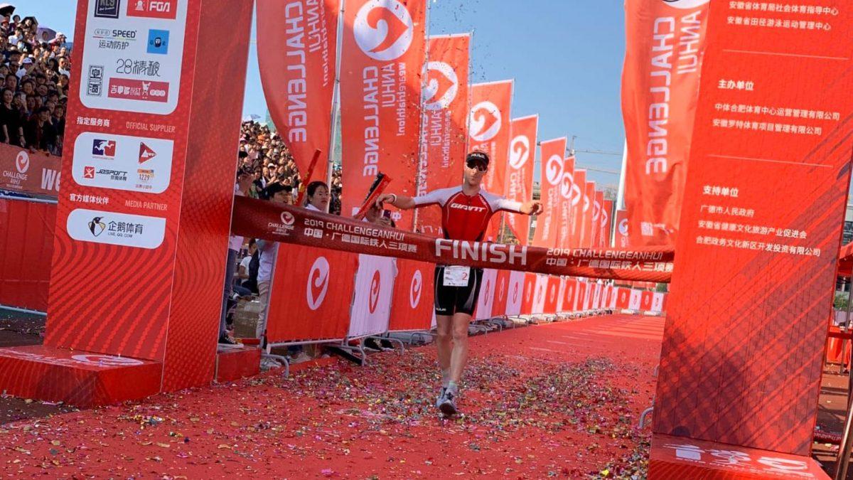 Erik-Simon Strijk sleept nette vierde plaats Challenge Anhui binnen, Levi Maxwell pakt titel