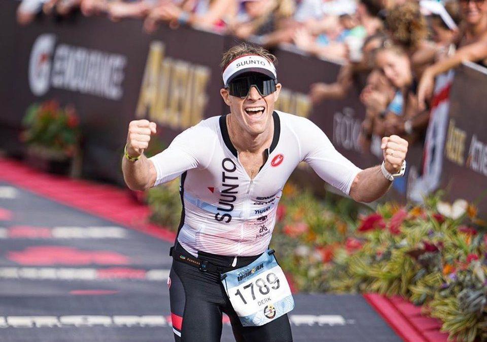 Derk de Korver tóch naar podiumplaats Ironman Hawaii