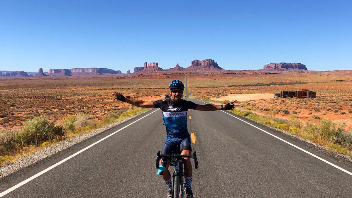 Blog drie – in een maand fietsend van west- naar oostkust Amerika: 'In één dag van zomer naar herfst'