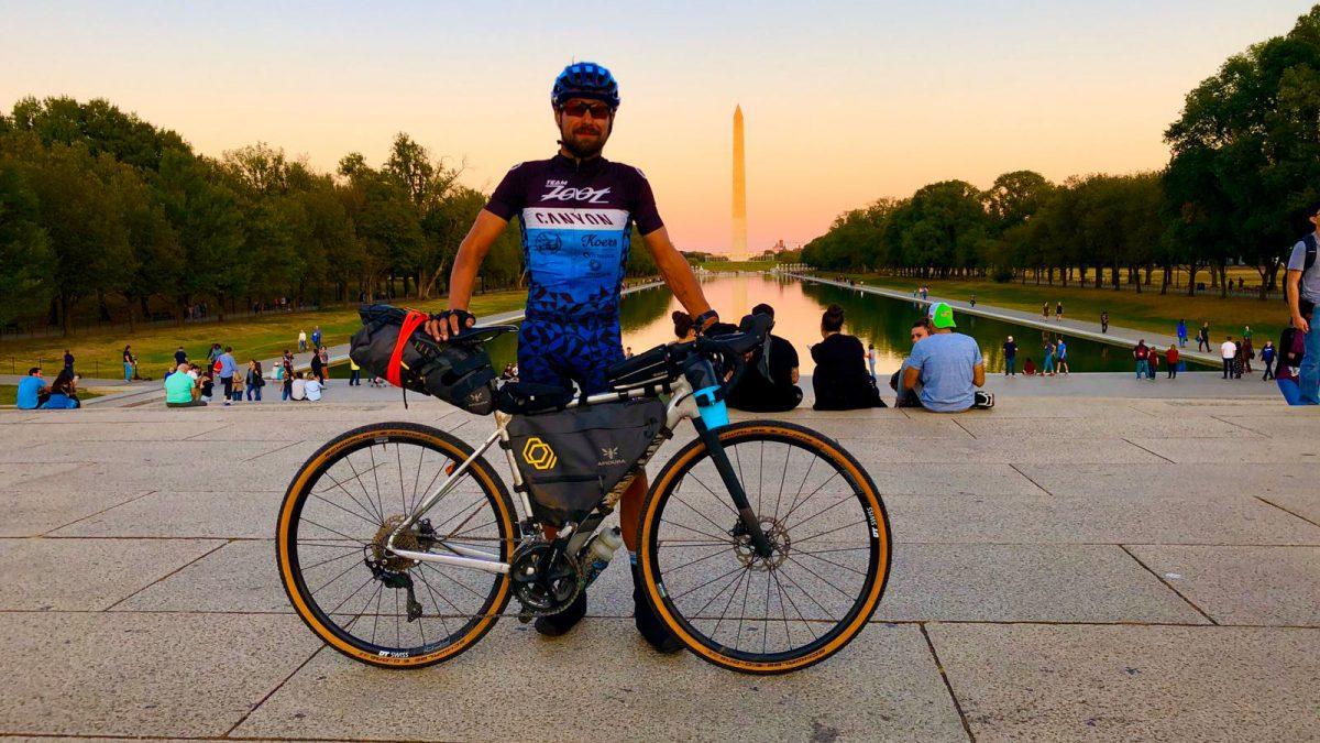 Blog vijf – in een maand fietsend van west- naar oostkust Amerika: 'Parijs is nog ver'