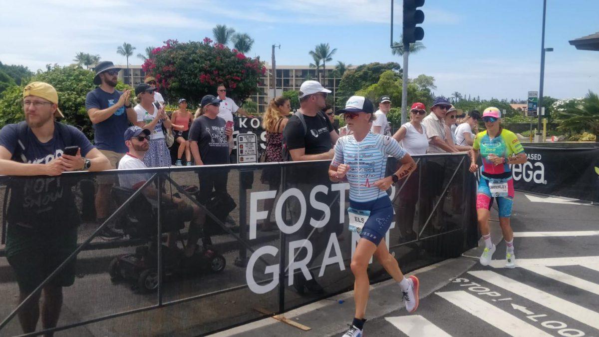 Els Visser pakt een geweldige 16e plaats Ironman Hawaii dankzij sterk fietsonderdeel