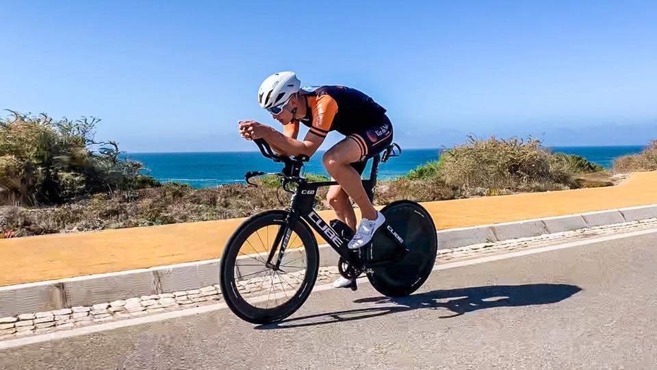 Tristan Olij over 13e plaats Ironman 70.3 Cascais: 'Dit gaat lukken'
