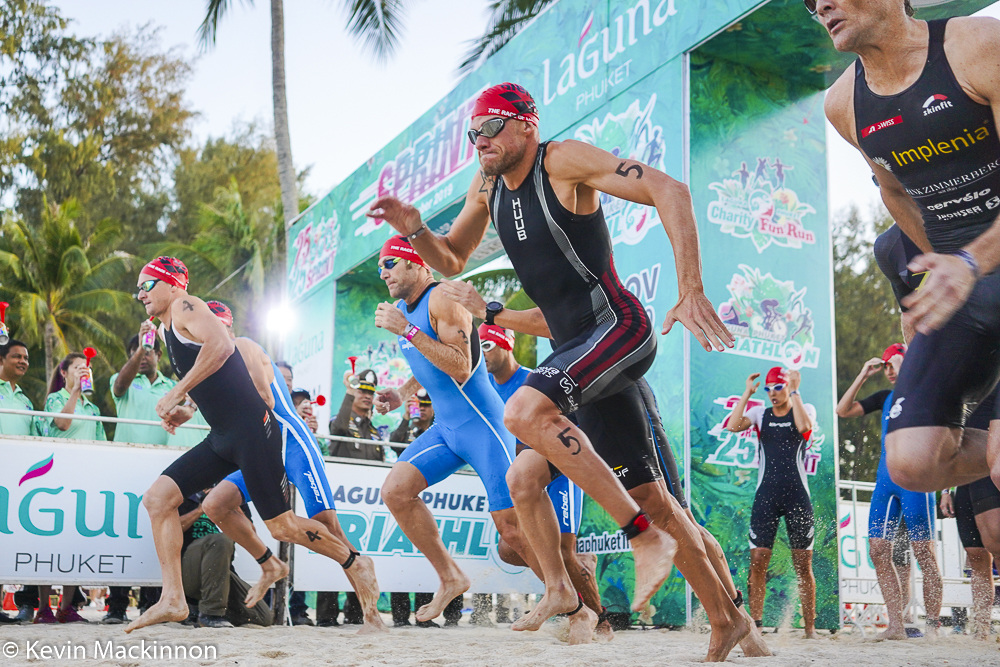 In beeld gevangen: Laguna Phuket Triathlon