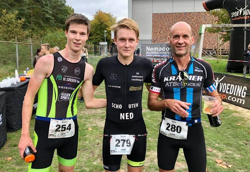 Daan Schouten en Christina Draijer ongenaakbaar DRW Run Bike Run: 'Een mooie eerste plek'