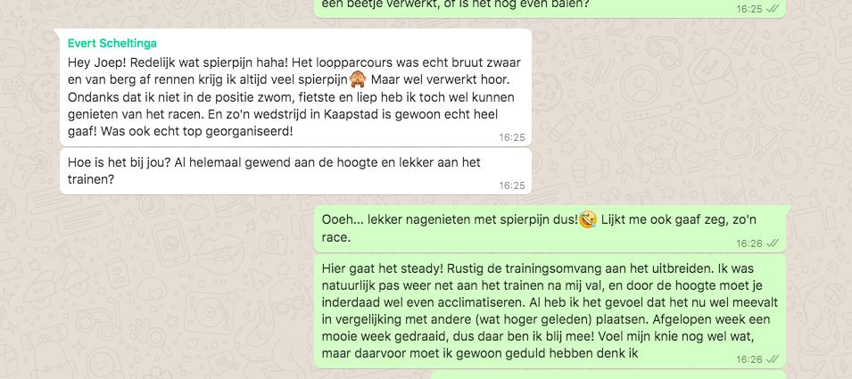 Whatsappen met Joep Staps en Evert Scheltinga: Zuid-Afrikaanse avonturen – deel 2