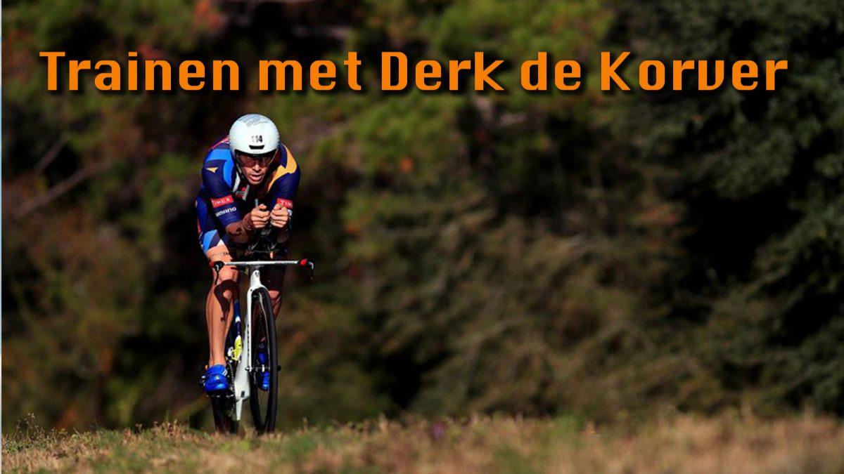 Trainen met Derk de Korver: donderdag