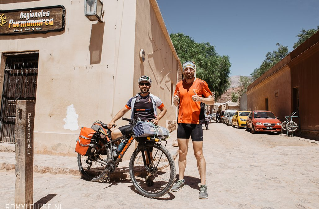 20.000 kilometer in drie jaar: Juan Pablo Savonitti loopt van Argentinië tot Alaska